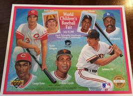 1993 Upper Deck Commemorative Sheet World Baseball Fair Sadaharu Oh Kinugasa Sga - $7.99