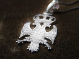 Haunted the Skull And Crossbones Amulet Illuminati Double Eagle POWER DOMINION - $555.55