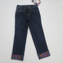 Disney Jessie Navy D Signed Style Diaries Jeans - Size XS - NWT - $12.99