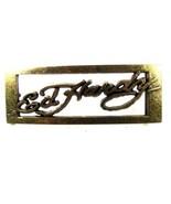 Silvertone Fibbia Della Cintura da ed Hardy 33116DDD - $79.18