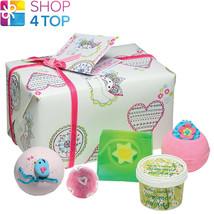 Festival Spirit Gift Pack Jasmine Lime Rose Handmade Natural Bomb Cosmetics New - $18.80