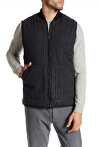 KENNETH COLE BLACK LABEL Vest, Black Combo, Size M, MSRP 298$ - $98.99