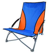 Stansport Low Profile Fold Up Chair Blue and Orange - $36.18