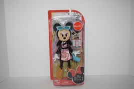Disney Minnie Mouse Sweet Latte 9-Inch Fashion Poseable Doll Figure w/ Cup - $11.87