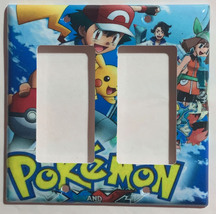 Pokemon XY Light Switch Duplex Outlet & more Wall Cover Plate Home decor image 4