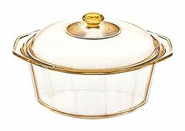 Visions Diamond 4.1L Glass Ceramics Dutch Oven Stock Pot with Lid