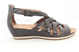 Dansko Vivian Vintage Pull Up Grphite Sandals Women's Size EU 38( )6681 - $135.00