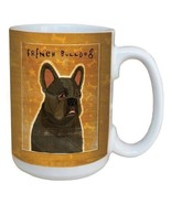 Tree-Free Greetings 15 oz French Bulldog Ceramic Mug BPA-Free Coffee Tea... - $13.32