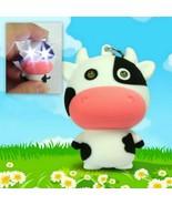 LED COW KEYCHAIN with Light and Sound Cute Farm Animal Moo Noise Key Cha... - $6.95