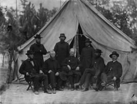 Union Federal Army 9th Corps Chaplains Petersburg, VA - 8x10 US Civil War Photo - $6.16