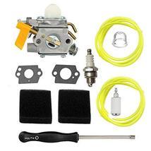 Shnile Carburetor Compatible with Ryobi RY 28140 28141 28100 28101 28121 28120 T - $14.46