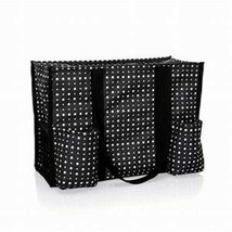 Thirty One Zip Top Organizing Tote (new) DITTY DOT - $40.69