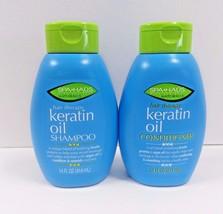 SPA HAUS Natural Hair Therapy Keratin Oil Shampoo & Conditioner 14 FL OZ - $16.10