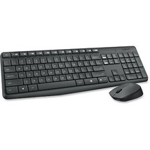 Logitech Wireless Keyboard And Mouse MK235 Gray 920007897 - $52.90