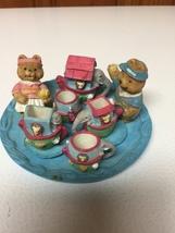 1995 CBK, LTD Collectible Resin Little Bears Animals Miniatures 11 Piece... - $17.99