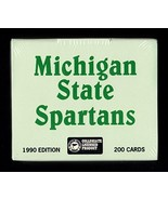 1990-91 Michigan State Spartans Collegiate Collection 200 Card Set with ... - $24.26