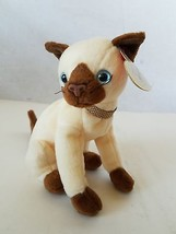 Ty Beanie Baby Siam The Siamese Cat - $11.63