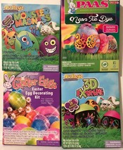 Easter Egg Dye Kits  Glitter, Neon Tie Dye, 3D Extreme, Monster Madness ... - $4.94+