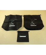 Lumens Camera Bags Lots of 3 Black For Document Camera Presenter Nylon - $16.82