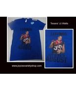 Texans JJ Watt Girl's T-Shirt LEGENDS ARE BORN IN AUGUST American Apparel - $10.99