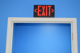 Exit Sign With Hidden Camera and Wi-Fi Capability - $369.00