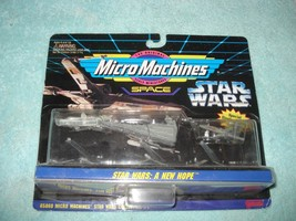 New 1994 Star Wars Micro Machines Space A New Hope Action Figure - $10.99
