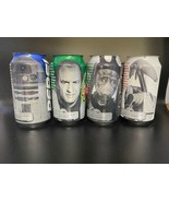 4 SPECIAL LIMITED EDITION Promotional UNSEALED STAR WARS Pepsi Cans - $49.47