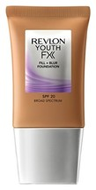Revlon Youth Fx Fill + Blur Foundation, Caramel, 1 Fluid Ounce - $12.24