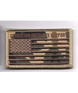 OPERATION RESOLUTE SUPPORT CAMO  DESERT FLAG 2 X 3  EMBROIDERED PATCH HO... - $15.33