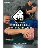 Defensive Tactics Principles-Vol. One Training ... - $14.95