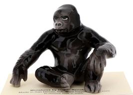 Hagen-Renaker Miniature Ceramic Wildlife Figurine Silverback Gorilla image 2