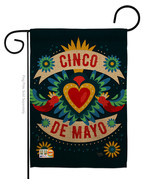 Cambaya Cinco De Mayo - Impressions Decorative Garden Flag G165158-BO - $19.97