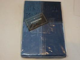 2 Tommy Hilfiger Annapolis Block Design Standard shams NIP - $50.32