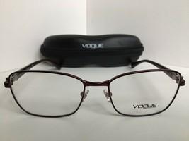 bacdd0021b New Vogue 54mm Burgundy Women  39 s Eyeglasses Frame Italy -  149.99