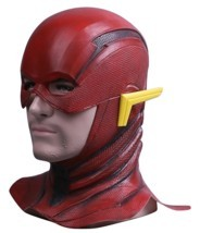 Justice League The Flash Cosplay Mask Full Face Barry Allen Flash Helmet Mask - £19.35 GBP