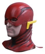 Justice League The Flash Cosplay Mask Full Face Barry Allen Flash Helmet... - $21.99