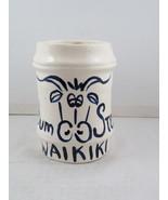 Vintage Tiki Mug - The Bum Steer Waikiki - Hand Painted - Polynesian Pot... - $65.00