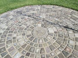 """12 Paver Molds Make 100s of 6x6x1.5"""" Castle Cobble Stones for Pennies. FAST SHIP image 5"""