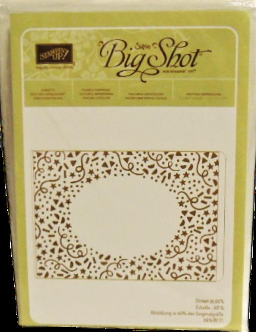 Stampin' Up Confetti Embossing Folder