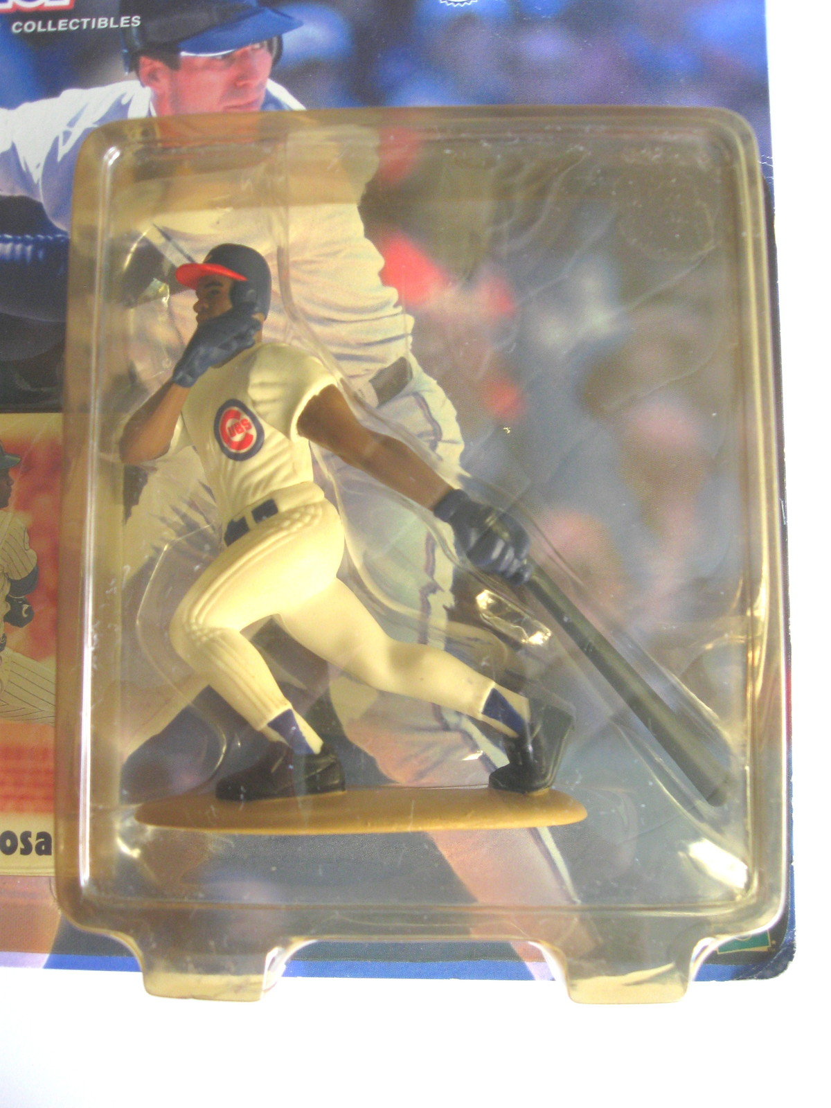 2000 Starting Lineup Sammy Sosa Chicago Cubs - Figure with Collector Card