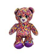 Build A Bear Rainbow Confetti Leopard  Plush Stuffed Animal Glitter Nose... - $16.39