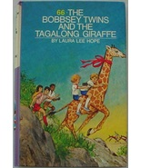 Bobbsey Twins Tagalong Giraffe purple & white spine picture cover Laura ... - $6.00