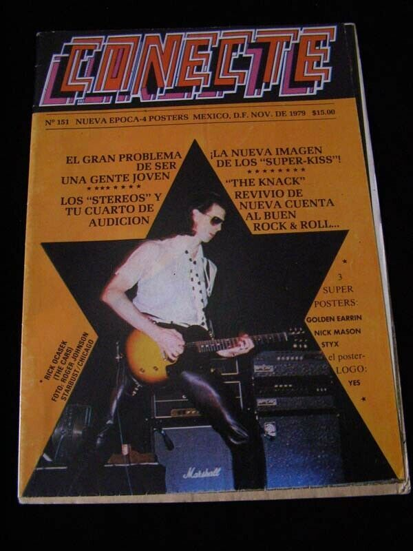 Conecte #151 The Cars Styx Golden Earring Pink Floyd Nick Mason and more