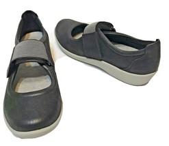 Clarks Cloudstepper Soft Cushion Black Mary Jane Comfort Shoe Womens Size 7 - $18.54