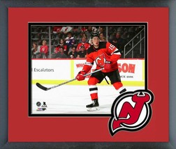 John Hayden 2019-20 New Jersey Devils-11x14 Team Logo Matted/Framed Photo - $42.95