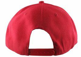 Dissizit Mens Dx Bones English D Red Snapback Baseball Hat Cap Slick Compton NW image 4