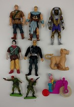 Hasbro 1994 TM Le Canal + Action Figures Warner 1978 Super Detail Lot Of... - $14.07