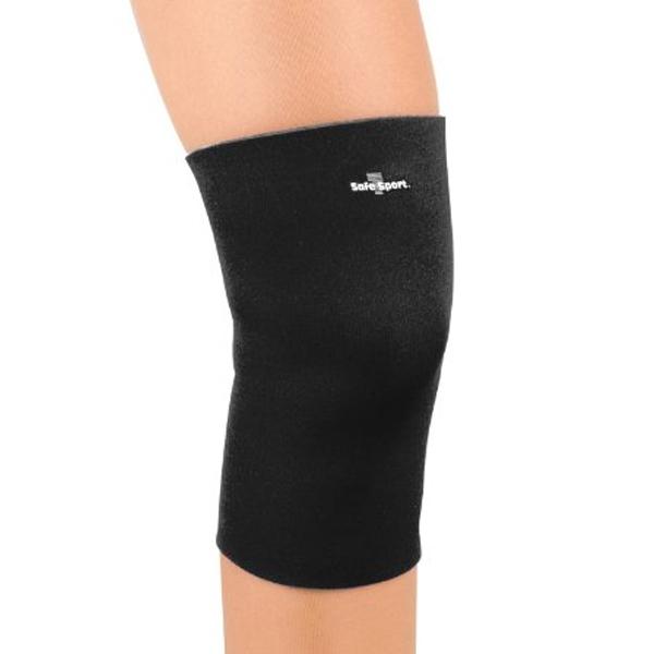 Fla safe t sport neoprene closed knee sleeveblack