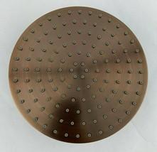 "7-1/4"" Flat Round Rainfall Shower-Head in Oil Rubbed Bronze, Shower Head... - $33.65"