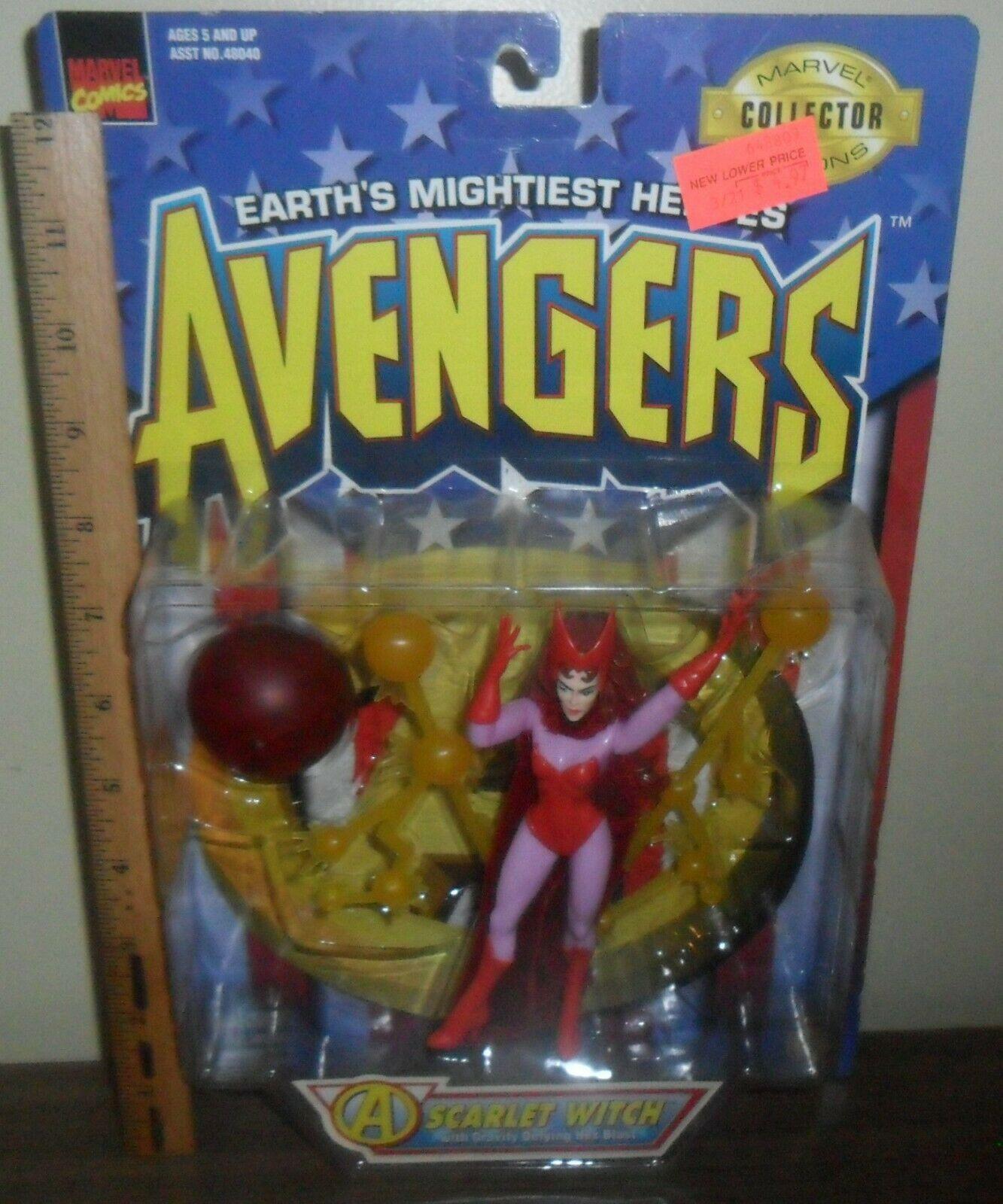 1997 Toy Biz Marvel Comics Avengers Action Figure ~ Scarlet Witch